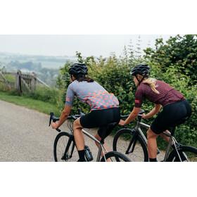 AGU Sprinkle Dot Kortärmad cykeltröja Dam grå/pink
